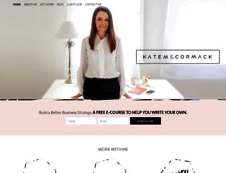 katemccormack.com.au screenshot