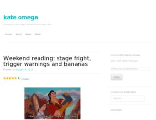 kateomega.com screenshot