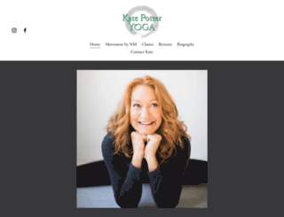 katepotteryoga.ca screenshot