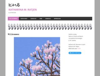 katharina-baumann.de screenshot