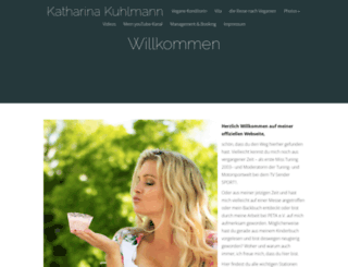 katharinakuhlmann.com screenshot