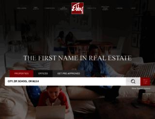 katherenehough.ebby.com screenshot