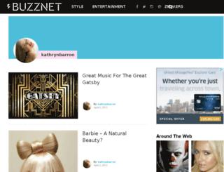 kathrynbarron.buzznet.com screenshot