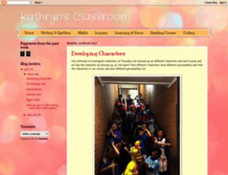 kathryns-classroom.blogspot.com.au screenshot