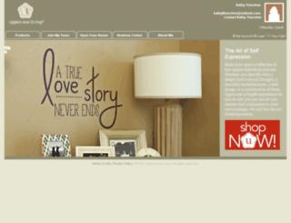 kathy.uppercaseliving.net screenshot