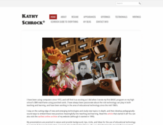 kathyschrock.net screenshot