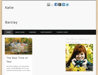 katiebarclay.com screenshot