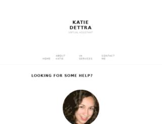 katiedettra.com screenshot
