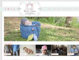 katiejanephotographyllc.com screenshot