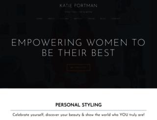 katieportman.com screenshot