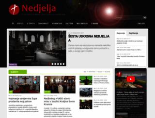 katolicki-tjednik.com screenshot