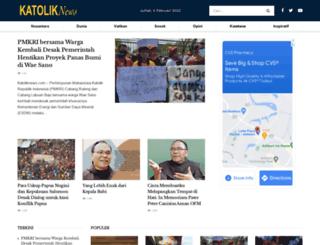 katoliknews.com screenshot