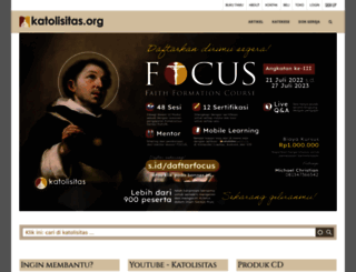 katolisitas.org screenshot