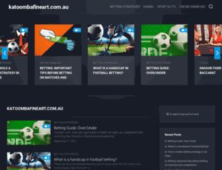 katoombafineart.com.au screenshot