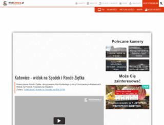 katowice.webcamera.pl screenshot