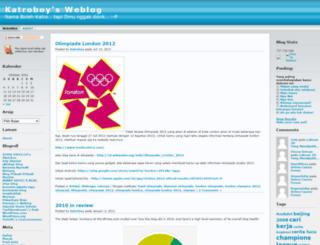 katroboy.wordpress.com screenshot