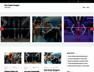 kats-designs.com screenshot