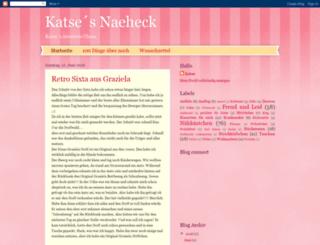 katsesnaeheck.blogspot.com screenshot