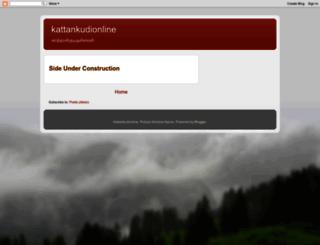 kattankudionline.blogspot.com screenshot