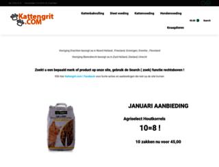 kattengrit.com screenshot