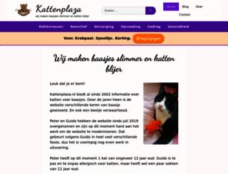 kattenplaza.nl screenshot