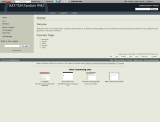 kattun.wikidot.com screenshot