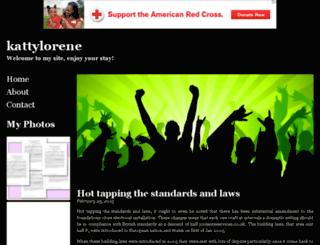 kattylorene.bravesites.com screenshot