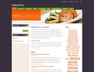 kattylorene.webnode.com screenshot