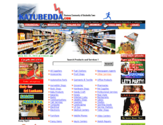 katubedda.com screenshot