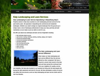 katylandscaping.net screenshot