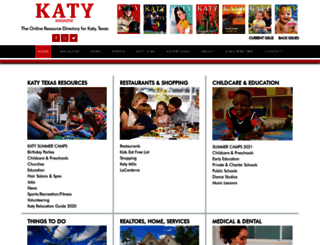katymagazine.com screenshot