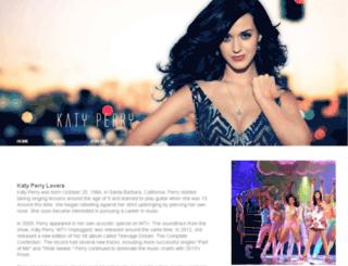 katyperrylovers.com screenshot