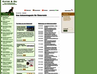 katze-und-du.at screenshot