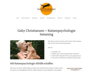 katzenpsychologie-ismaning.de screenshot