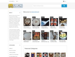 katzzskloset.ecrater.com screenshot