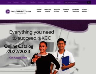 kauai.hawaii.edu screenshot
