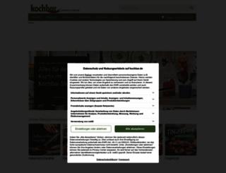 kaufda.kochbar.de screenshot
