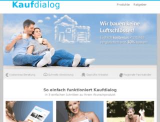 kaufdialog.de screenshot