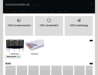kaufenbestellen.de screenshot