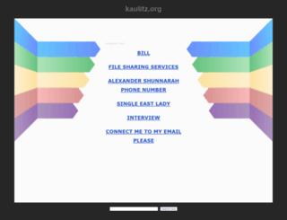 kaulitz.org screenshot