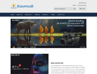 kaumudi.in screenshot