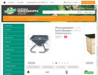kauppa.savenmaa.fi screenshot