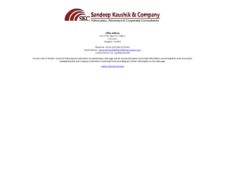 kaushikandcompany.com screenshot