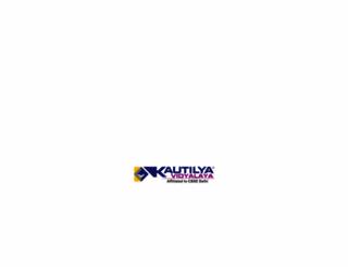 kautilyavidyalaya.edu.in screenshot