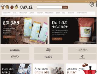 kava.cz screenshot
