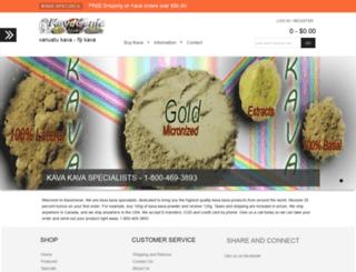 kavagenie.com screenshot