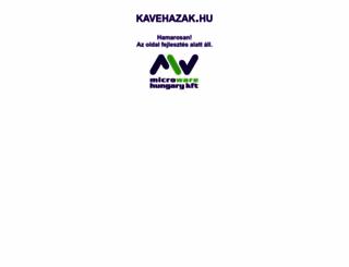 kavehazak.hu screenshot