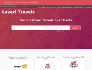 kaveri-kamakshi-travels.redbus.in screenshot