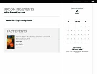 kavit.ticketleap.com screenshot