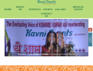 kavnievents.com screenshot